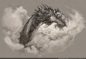 Dragon Head in the clouds
