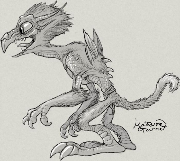 Gangly Monster by Katherine Garner