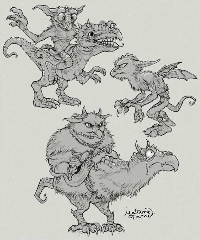 Three little goblins by Katherine Garner