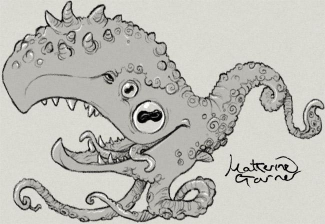Whaloctopus by Katherine Garner