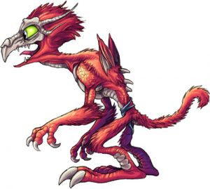 red dragon goblin