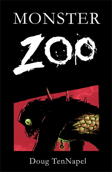 Monster Zoo cover comic book colour for Doug TenNapel