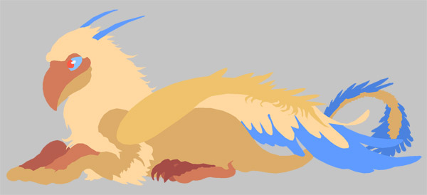 Griffin wip flat art layer