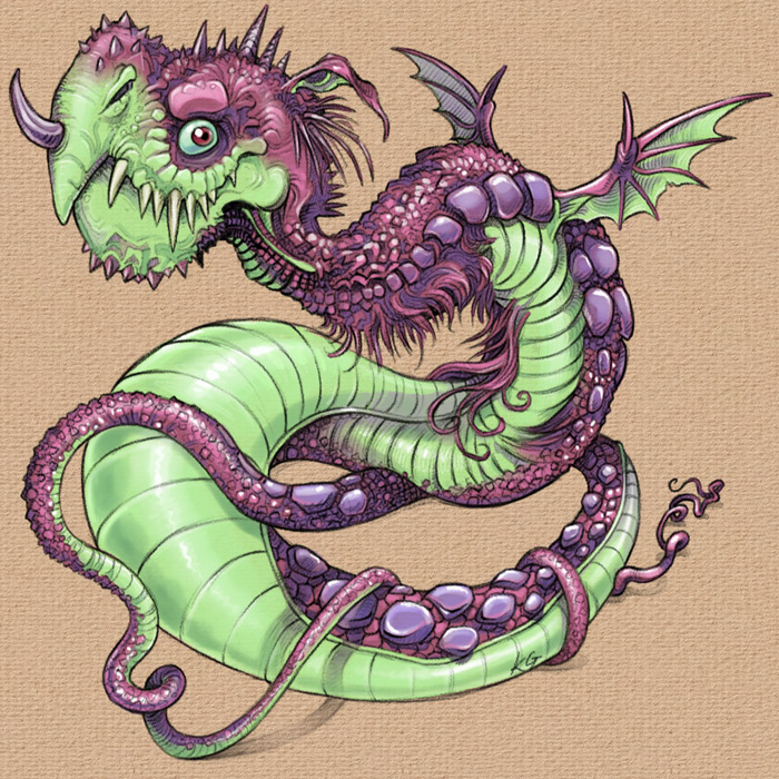 Wurm dragon