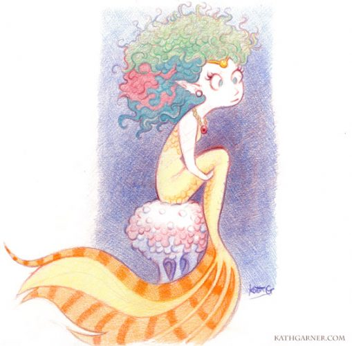 Yellow Mermaid