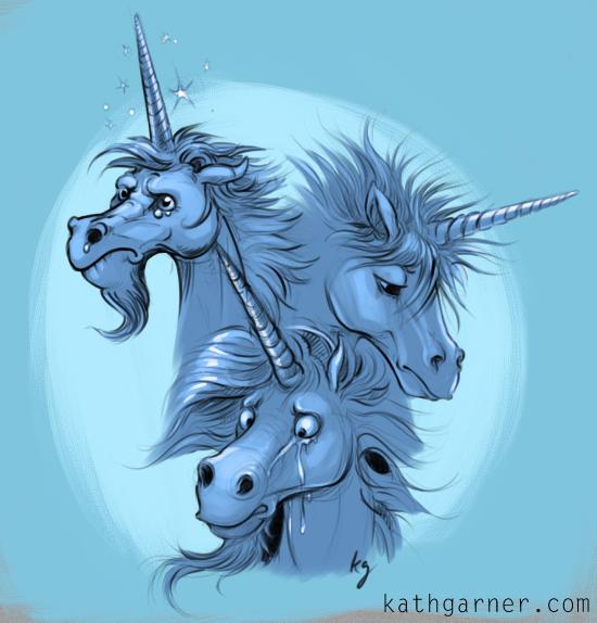 Cry me a unicorn